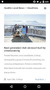 Seattle Local News - screenshot thumbnail