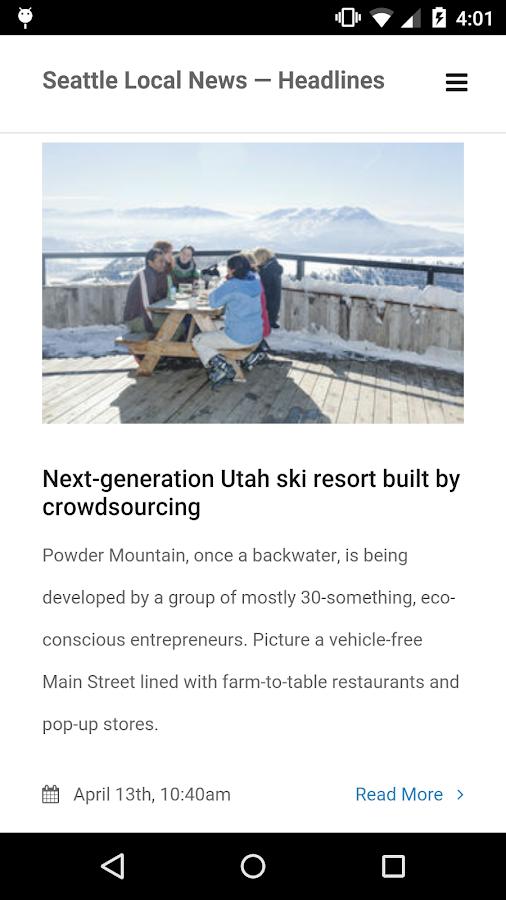 Seattle Local News - screenshot