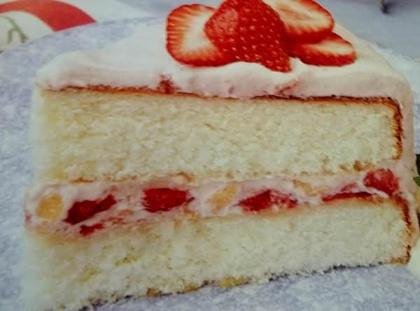 Mom's White Cake Recipe