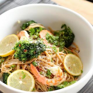 Lemon Pasta With Shrimp And Broccoli