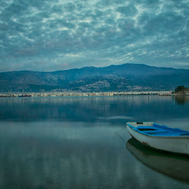 after a difficult day by George Leontaras - Landscapes Cloud Formations
