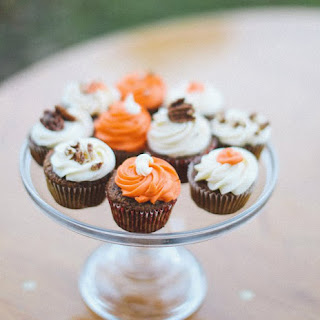 Ginger Carrot Cupcakes