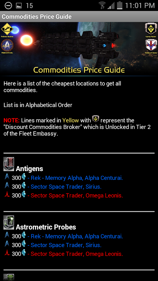 STO Guides - (For PC)- screenshot
