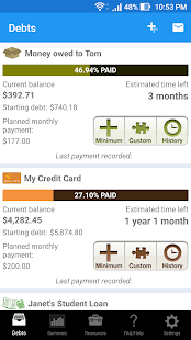 Pay Off Debt - New Version screenshot