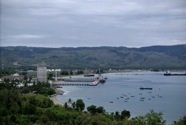 Pemandangan Keindahan Krueng Raya menuju Pantai Pasir Putih Lhokme