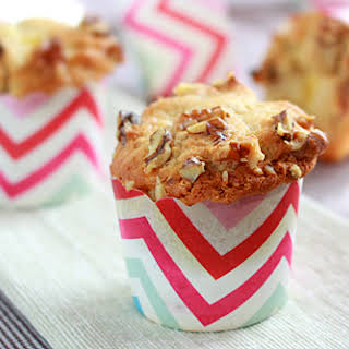 Banana Cream Cheese Muffins.
