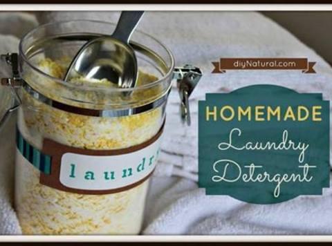 Dyi Laundry Detergent Recipe