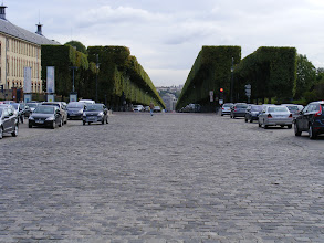 Photo: The Allée d'Honneur was designed for Colbert as the main entrance to the Park.