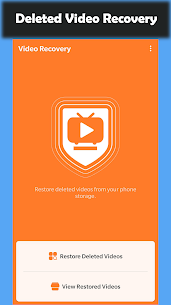 Deleted Video Recovery Apk – Restore Deleted Videos 1