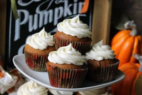 "Robin's Moist And Yummy Pumpkin Cupcakes ""This made from scratch pumpkin cupcake..."
