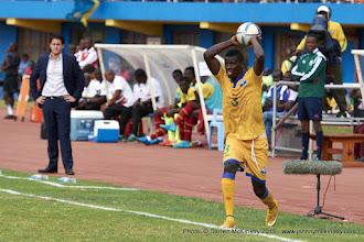 Photo: Abouba Sibomana (3) [Rwanda Vs Ghana AFCON2017 Qualifier, 5 Sep 2015 in Kigali, Rwanda.  Photo © Darren McKinstry 2015