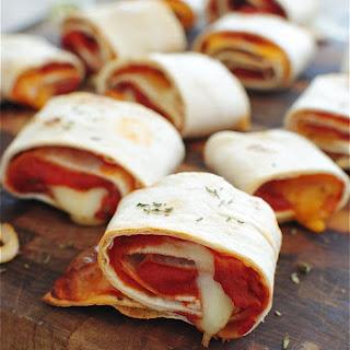 Easy Homemade Pizza Rolls.