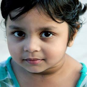 expression... by Shubhendu Bikash Mazumder - Babies & Children Child Portraits