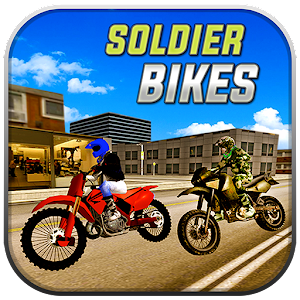 Soldier on Bikes Driving sim for PC and MAC