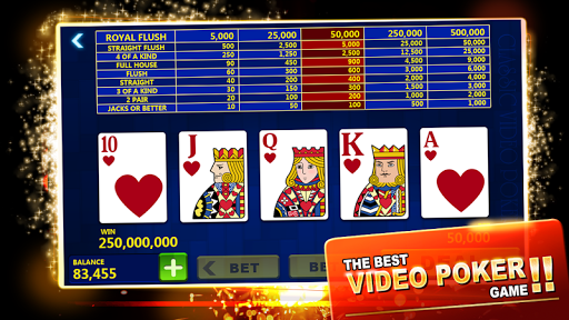 Video Poker - Deluxe Casino