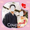 Japanese Kimono Couple Photo Editor icon