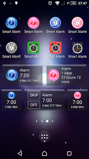 Screenshot for Smart Alarm (Alarm Clock) in United States Play Store