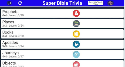 SUPER BIBLE TRIVIA screenshot 5