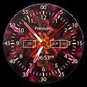 Analog Neon Clock Live Wallpaper & Widget icon