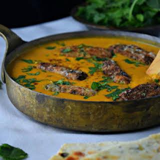 Best Malai Kofta ( Veggie Cheese Balls in Yellow Gravy).