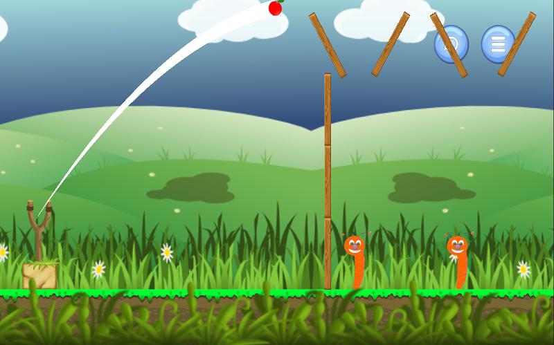 Скриншот Angry Apples