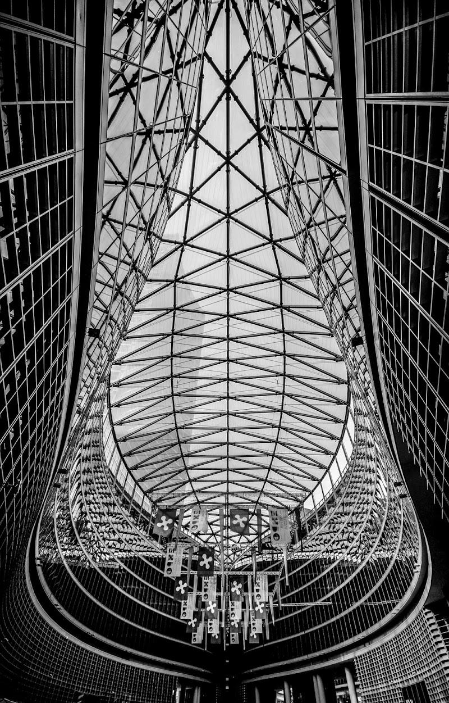 Geometrie in un soffitto di Diana Cimino Cocco