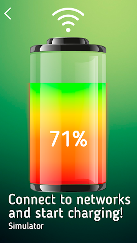 android WiFi Battery Charger Simulator Screenshot 1