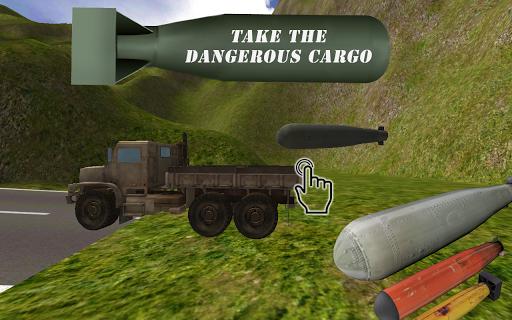 Bomb Transporter Truck