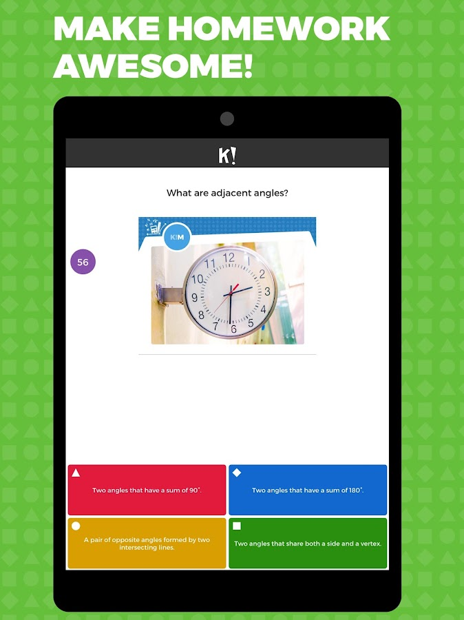 Kahoot!- screenshot