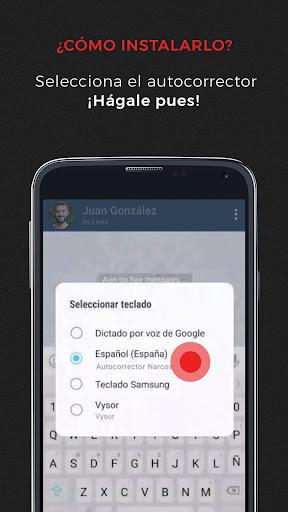 Autocorrector Narcos 1.0 screenshots 2