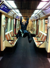 Photo: The time we had the metro all to ourselves.