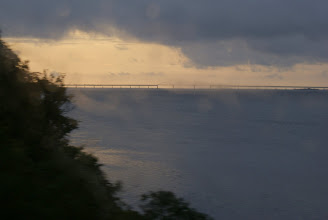 Photo: Storstrømsbroen set fra bussen