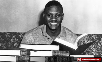 Photo: Prentice Gautt paved the way for black student-athletes at the University of Oklahoma.