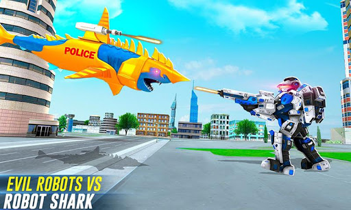 Robot Shark Attack: Transform Robot Shark Games screenshots 3