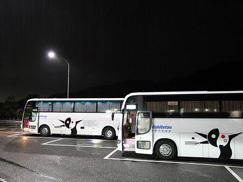 西鉄高速バス「さぬきエクスプレス福岡号」<br /> 粒江PAにて
