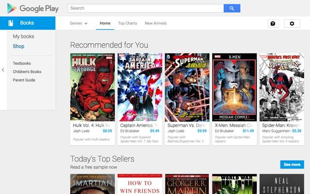 google play books chrome web store