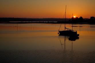 Photo: Lever de soleil sur le Cap Coz mars 2009