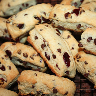 Danish Dough Whisk – Cranberry Chocolate Chip Scone