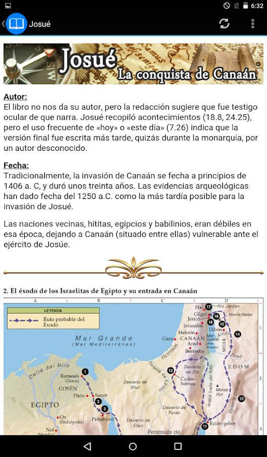 Guía de la Biblia- screenshot