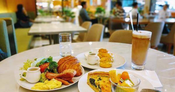 eslite café 閱讀咖啡 誠品信義店:書店裡的輕食下午茶 | 台北餐廳 信義商圈 捷運市政府站 誠品信義書店 早午餐