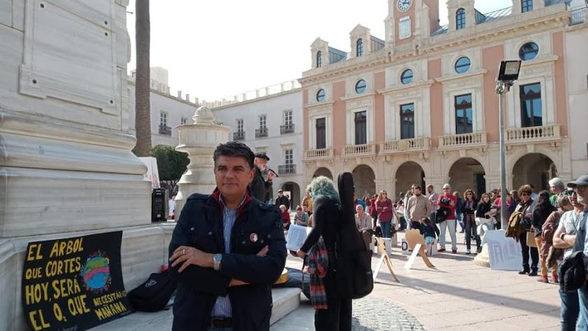 Miguel Cazorla, Portavoz de Ciudadanos en el Ayuntamiento de Almería.