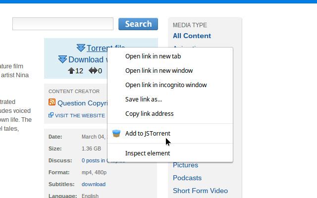 JSTorrent Helper extension