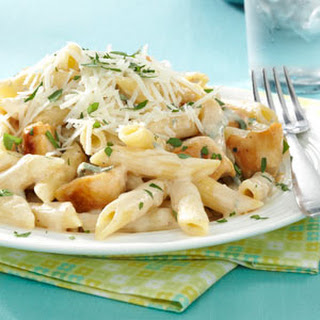 Penne Gorgonzola with Chicken.