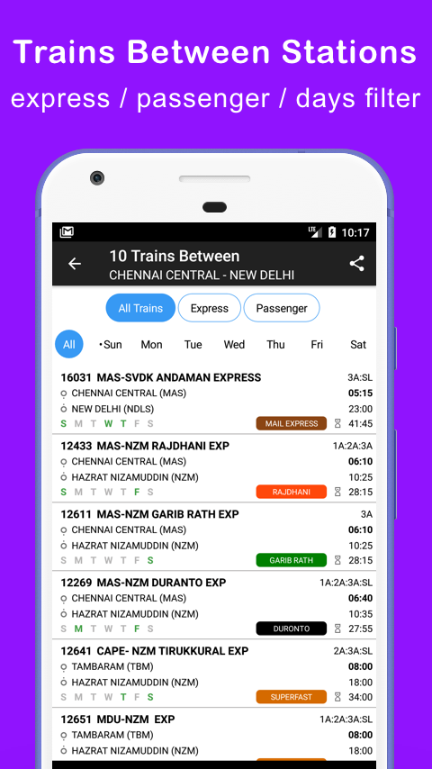 Indian Railway Train Status- screenshot