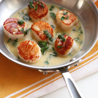 Scallops White Sauce Recipes.