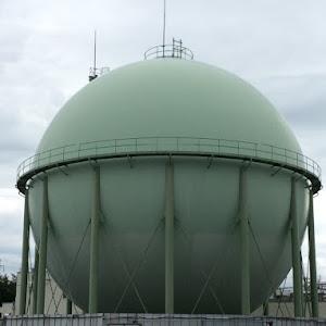 長野都市ガス 本社 ガスタンク