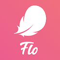 Flo Health & Period tracker. My Ovulation Calendar icon