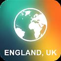 England, UK Offline Map icon