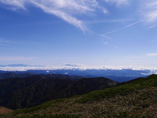 木曽御嶽山方面