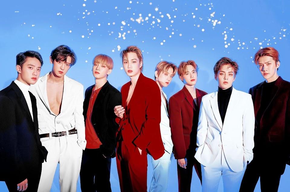 exo idol chart 44